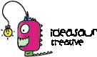 horizontal ideasaur logo